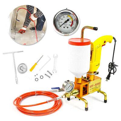 Hq Electric Epoxy Injection Piston Pump Polyurethane Foam Grouting Steel Machine