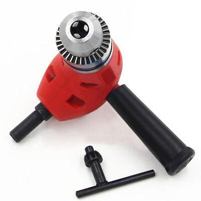 Angle Adaptor 90 DEGREE Right Angle Drill Attachment 3/8 Chuck Metal Head