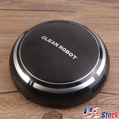 Home Automatic Smart Floor Cleaning Robot Auto Dust Cleaner Sweeper Mop Recharge