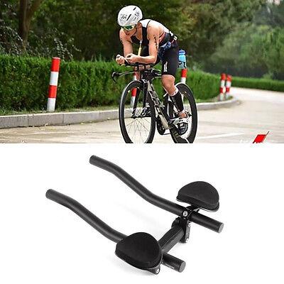 a0aa2e331f1 MTB Bicycle Cycling TT Arm Rest Bar Relax Aerobar Handlebars Road Bike  31.8mm