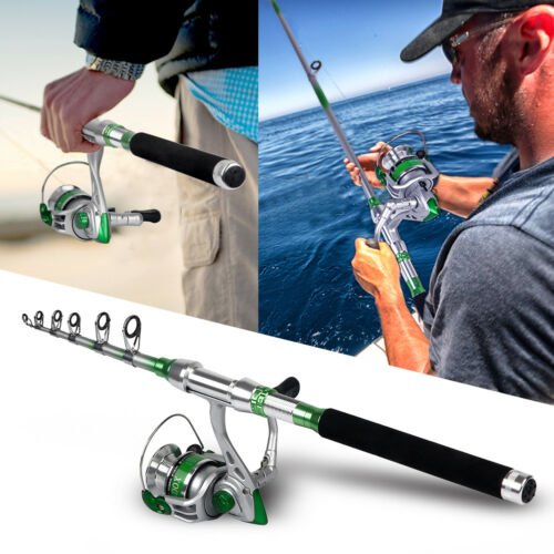 Telescopic Fishing Rod and Reel Combo Fishing Rod & Spinning