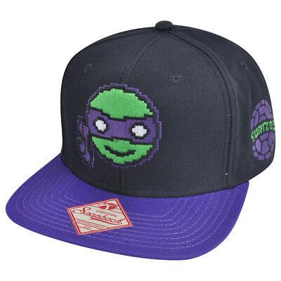 Teenage Mutant Ninja Turtles Digital Donatello Snapback Hut - Teenage Mutant Ninja Turtles Hut
