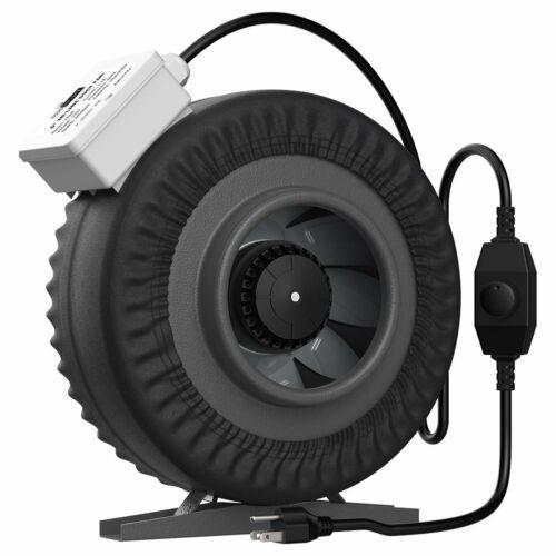 "VIVOHOME 4"" 6"" Inline Duct Fan Carbon Filter Air ..."