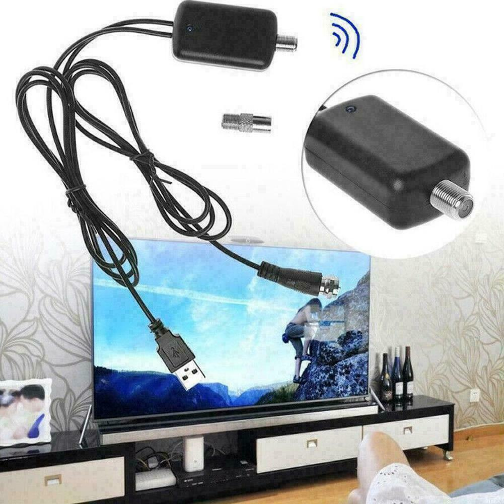 HDTV Antenna Signal Amplifier Booster Digital For Cable TV F