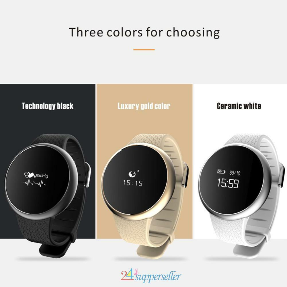Smart Wrist Watch Blood Pressure Oxygen Monitor Heart Rat...