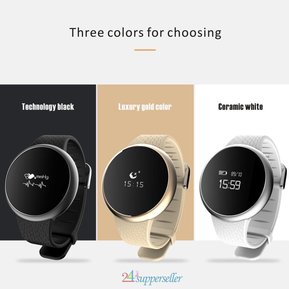 Smart Wrist Watch Blood Pressure Oxygen Monitor Heart Rat...