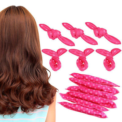 20Pcs Magic Sponge Flexible Foam Hair Curlers Soft Sleep Hair Rollers Girl Need for sale  China