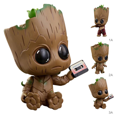 Cute Guardians of the Galaxy Vol 2 Groot Cosbaby Bobble Head