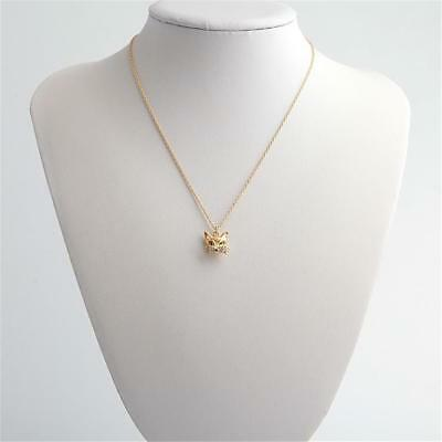 Kate Spade New York  So Foxy Gold Tone Fox Pendant  Necklace