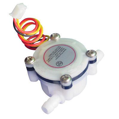 Water Coffee Flow Sensor Switch Control Flowmeter Meter Counter 0.3-6lmin New