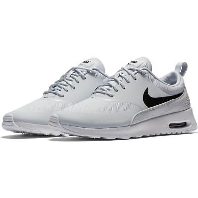 Nike Air Max Thea Womens UK 4 EU 37.5 Platinum Running Shoes Trainers 599409 022