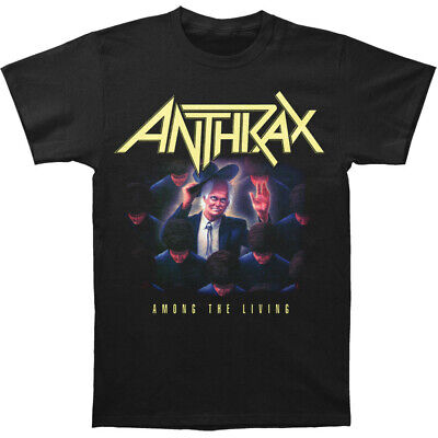 Authentic ANTHRAX Among The Living T-Shirt Black S-2XL NEW