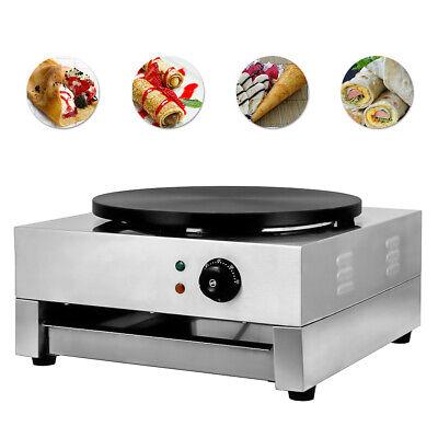 16non Stick Commercial Electric Crepe Maker Baking Pancake Machine Big Hotplate