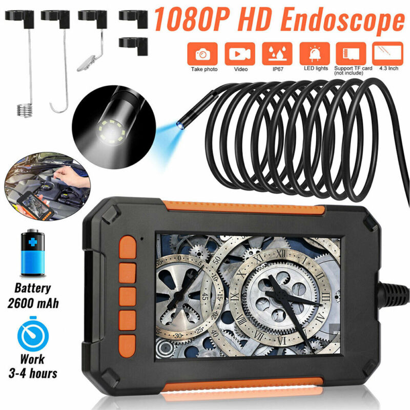 16.5FT Industrial Endoscope 1080P HD 4.3