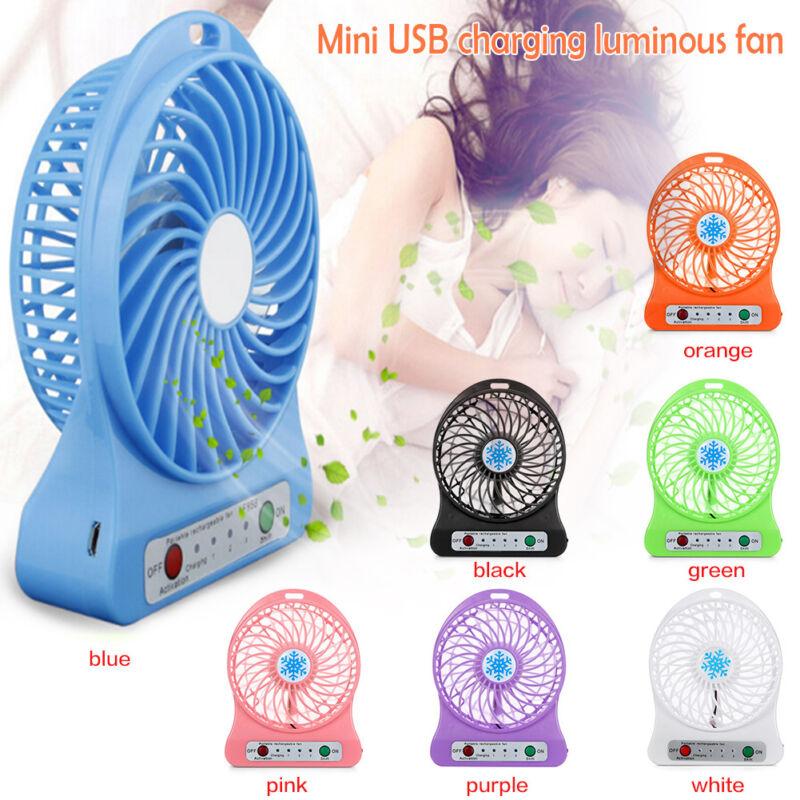 Mini Portable USB Fan Quiet Desktop Desk Silent Cooler Cooling For Laptop PC