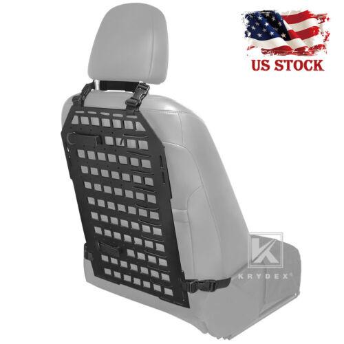 KRYDEX Tactical Rigid Insert Panel Storage Car Seat Back MOLLE Display Organizer