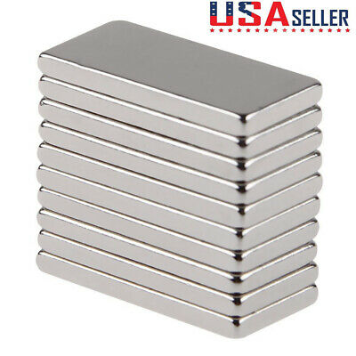 1-50pcs N50 Neodymium Block 20x10x2mm Magnet Super Strong Rare Earth Magnets