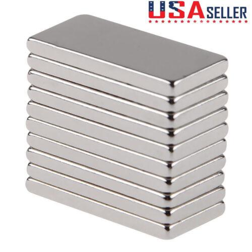 1-50pcs N50 Neodymium Block 20x10x2mm Magnet Super Strong Ra