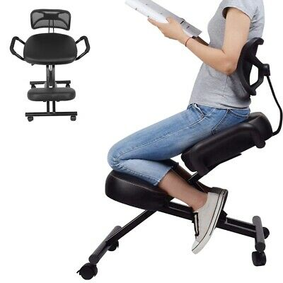 Ergonomic Kneeling Chair Height Adjustable Chair With Back For Home Office Use