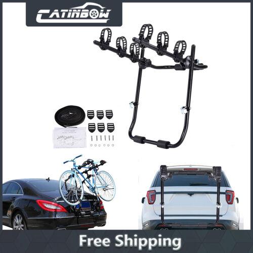 Car Rear Bike Rack Trunk Hitch Mount Carrier Adjustable for