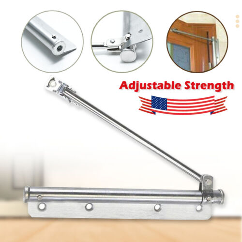Automatic Door Closer Stainless Steel Spring Buffer For Office/Store/Home