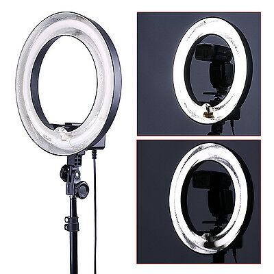 """Neewer Photographic 400W 5500K Ring Fluorescent Flash Light 14""""Outer 10""""Inner"""