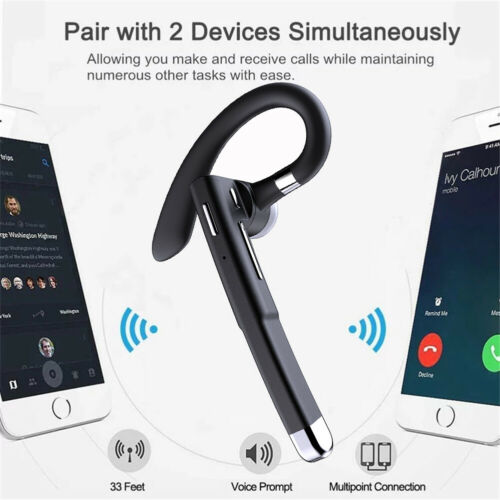 Noise Cancelling Bluetooth Earphone Headset With Charging Case For IPhone Huawei - $19.99