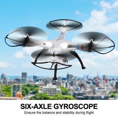 Syma X8G Drone 1080P 8MP HD Camera LED Light 2.4G 4CH RC Quadcopter Toys Gift