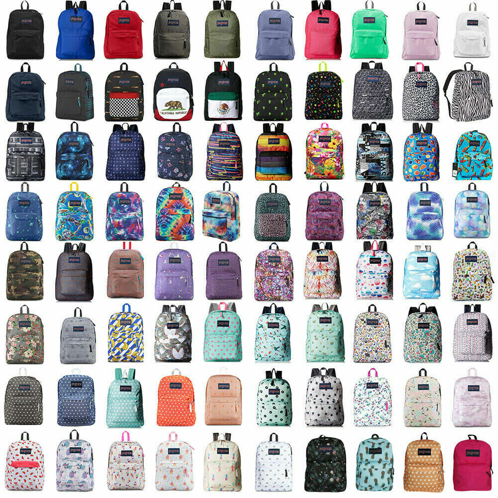 New With Tags JanSport T501 SuperBreak 100% Authentic Book B