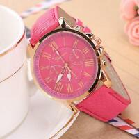 Fashion Women's Leather Stainless Steel Dress Quartz Analog Wrist Watches Hot Xw - unbranded - ebay.co.uk