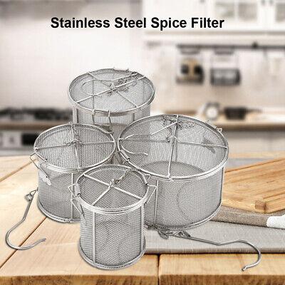 Practical Tea Ball Spice Strainer Mesh Infuser Filter Stainless Steel Herbal