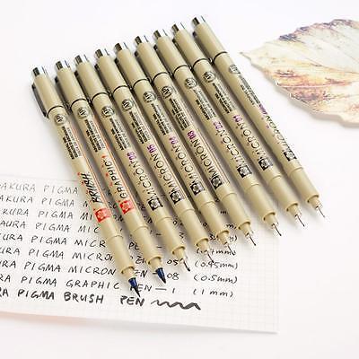 Sakura Pigma Micron Fine Line Pen Art Supplies Waterproof Fade Proof ()