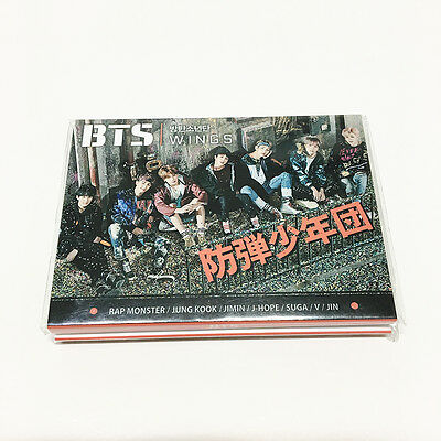 "BTS Bangtan Boys 4 Photo Memo Pads 3.7"" x2.7 "" 1EA K-POP Star"
