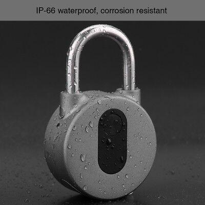 Smart Funk Wireless Bluetooth Vorhängeschloss Schlüssellos Wasserdicht Handy APP segunda mano  Embacar hacia Mexico
