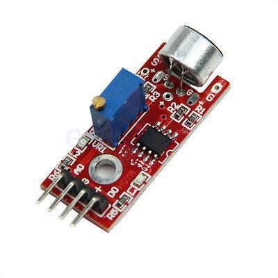 High Sensitivity Sound Microphone Sensor Detection Module For Arduino Avr Pic