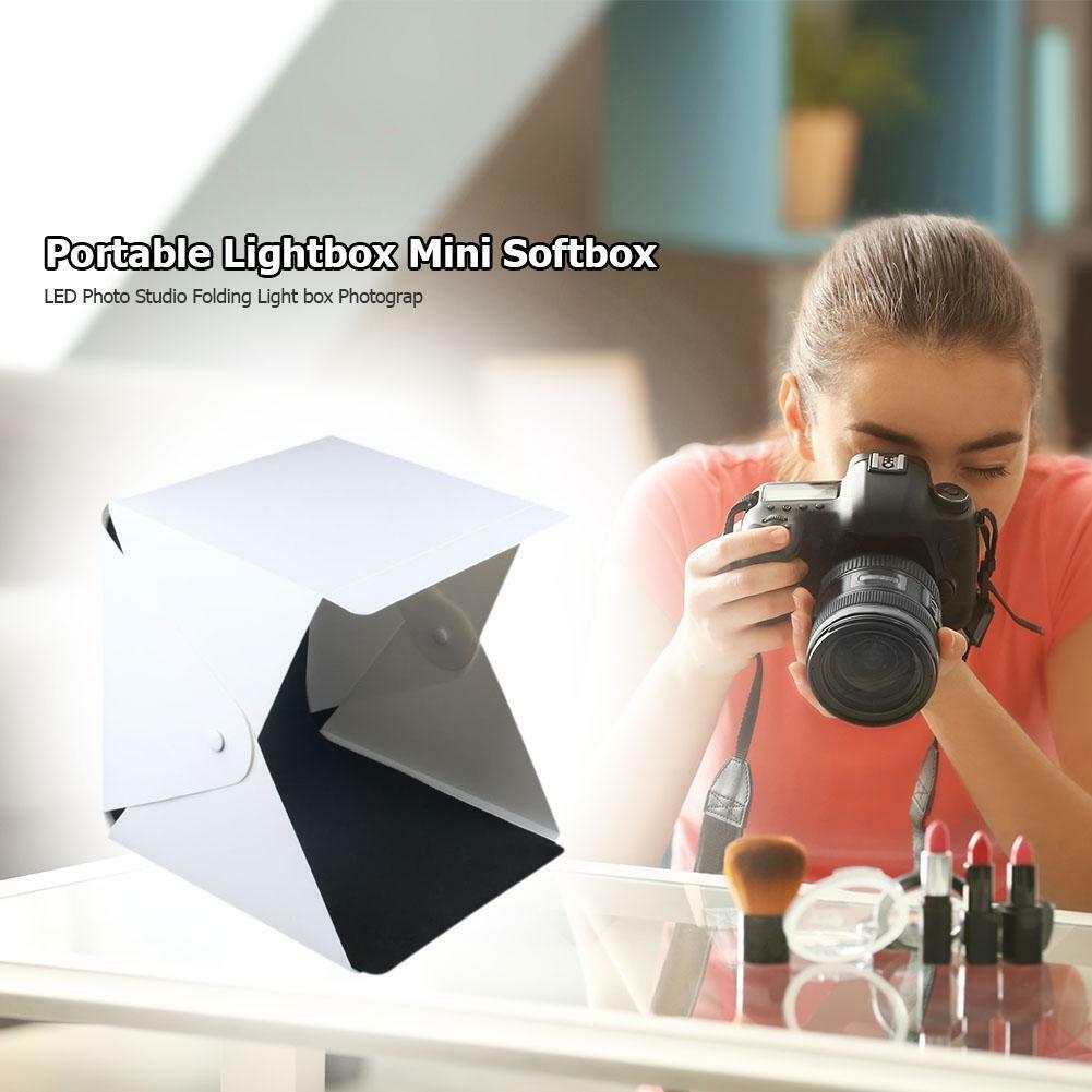 Portable LED Photography Studio Lightbox 20cm Mini Photo Sof