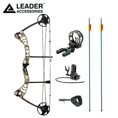 Leader Accessories Compound Bow 30-55lbs Archery Hunting wit