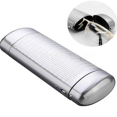 Brillenetui Brillenbox Aluminium Aluminiumbox Metall Hartschale Lesebrille online kaufen