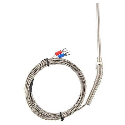 1pcs 3m Thermocouple Cable K Type 100mm Probe Sensor -1001250 Degree