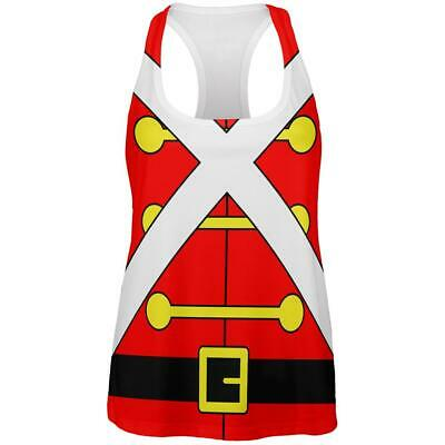 Christmas Toy Soldier Costume All Over Womens Work Out Tank Top