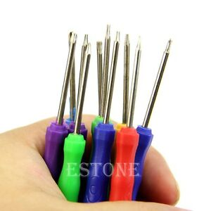 best to 10 in 1 repair open hand tool kit screwdriver set for pc phone. Black Bedroom Furniture Sets. Home Design Ideas