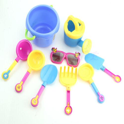 9pcs Baby Funny Cool Barrels Sunglasses Beach Bathing Paddle Educational Toys