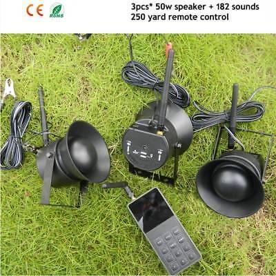 1 For 3 50W Speaker Hunting Decoy Bird Caller Mp3 150dB Bird Sound 3 Loudspeaker