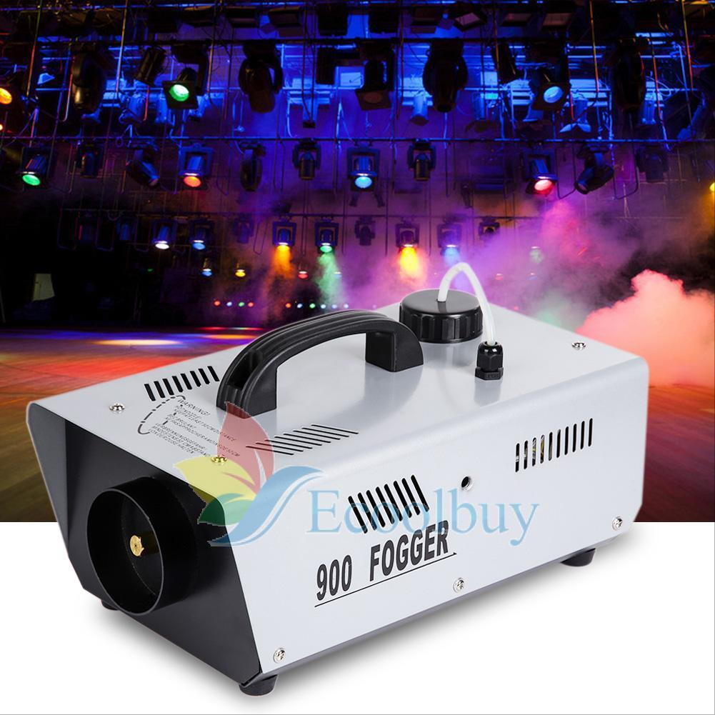 900W Wireless Remote DJ Disco Party Smoke Mist Fog Effect Mountable Machine UK