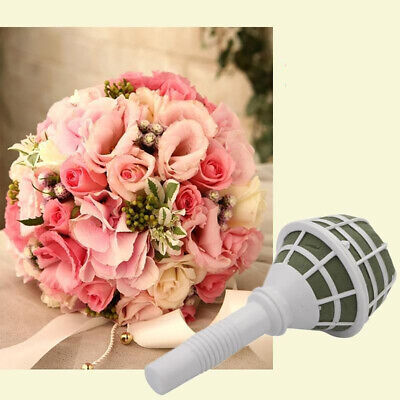 New Bouquet Holder Handle Bridal Wedding Plastic Flower DIY Decoration Charm](Bouquet Holders)