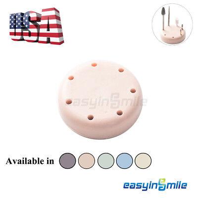 1 Pc Easyinsmile Dental Lab Magnetic Bur Block Holder Burs 7 Fgra Autoclavable