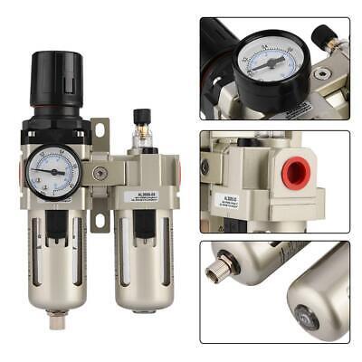 38 Air Compressor Air Pressure Regulator Filter Combo Moisture Water Trap Us