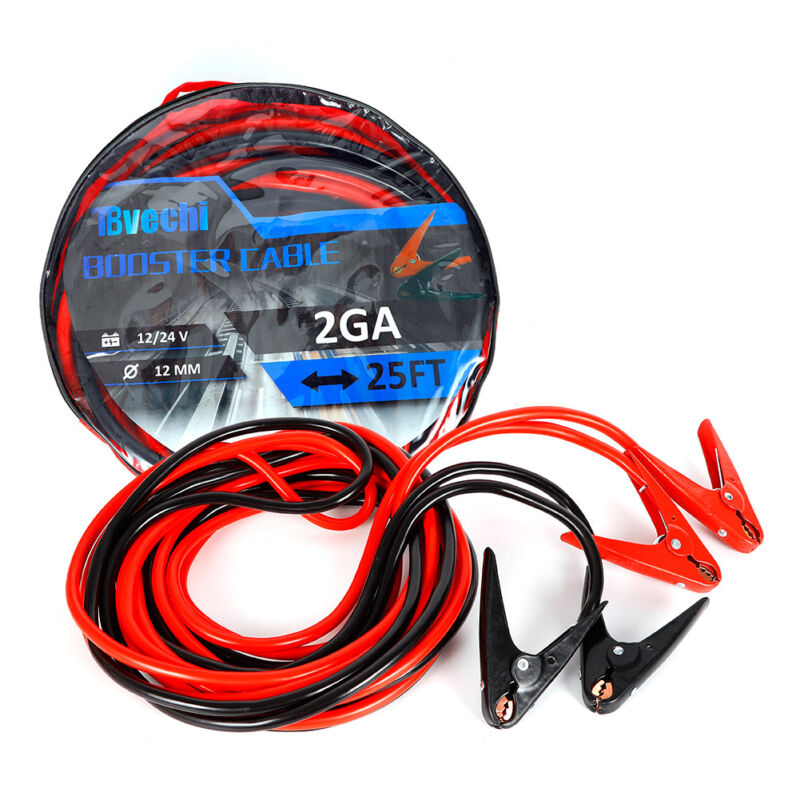 ENB-220 PVC-coated Insulated Clamps Auto Emergency Start Battery Booster Cable