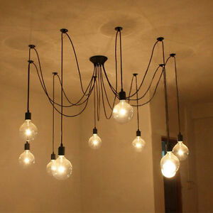 Edison Industrial Style Ceiling Lights