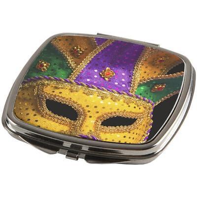 Mardi Gras Mask Compact
